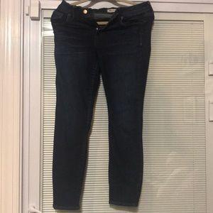 Madewell Jeans Skinny Skinny Crop Size 28